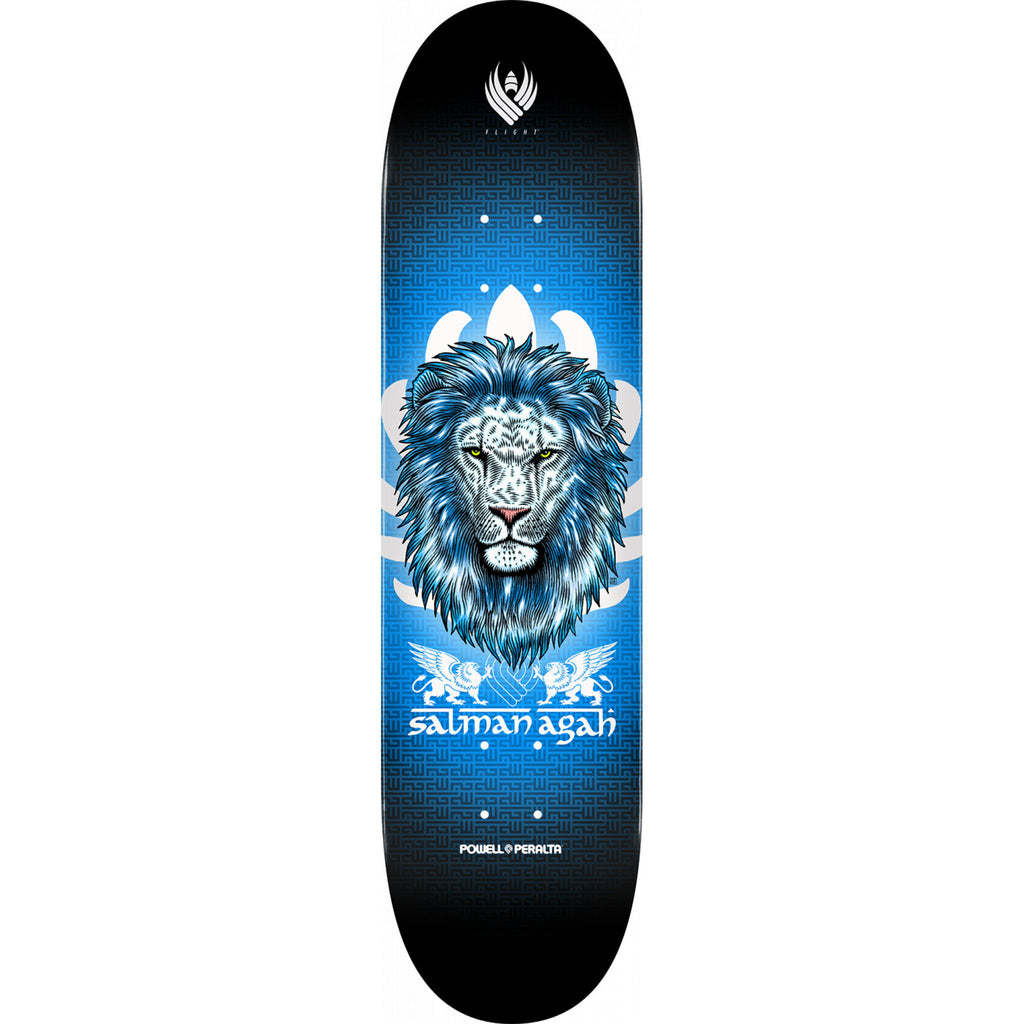Powell-Peralta Flight Deck Agah Lion 3, Shape 242, 8.0""