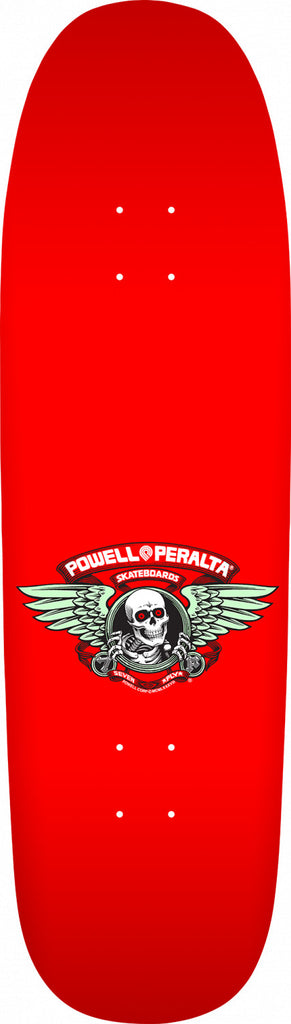 Powell-Peralta Caballero Ban This Skateboard Deck, Red, Shape 192, 9.265""