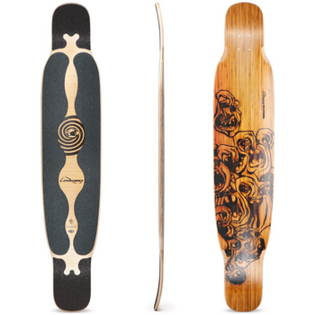Loaded Bhangra Dancer Longboard, Deck and Complete