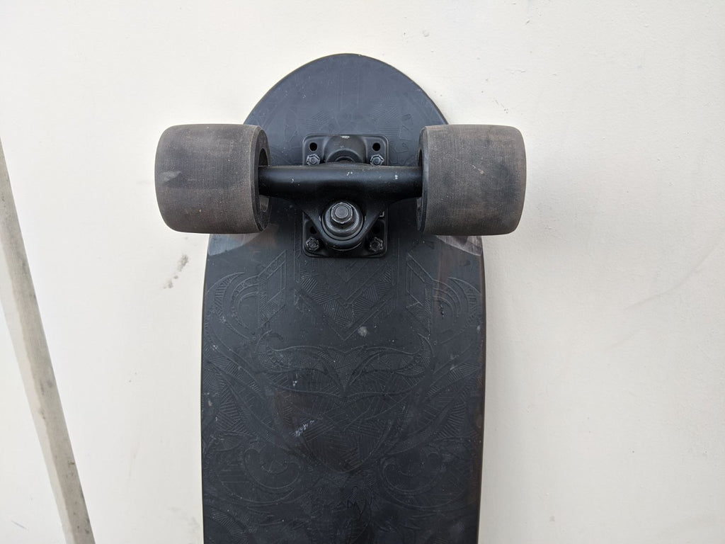 Landyachtz Dinghy Series Skateboard, Emboss Complete - Outlet / Used