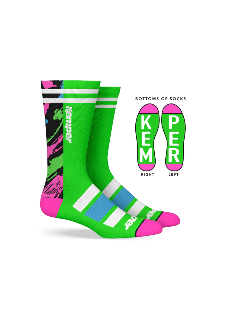 Kemper Snowboards Rampage Crew Sock by Kemper Snowboards