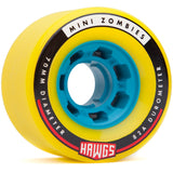 Landyachtz Mini Zombie Hawgs Longboard Wheels, 70mm