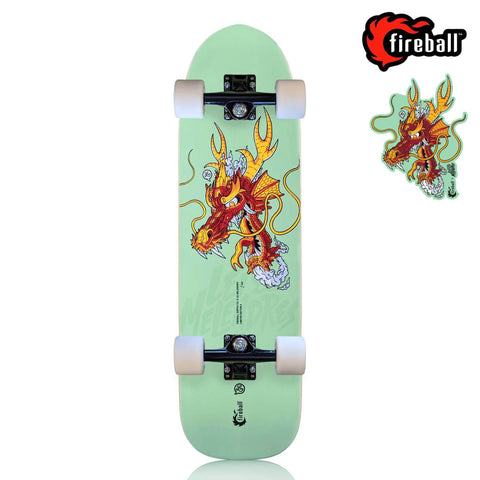 Fireball Limited Edition Artist Collab Cruiser Skateboard | Lei Melendres