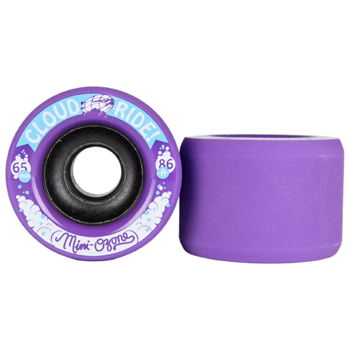 Cloud Ride Mini Ozone / Ozone Longboard Wheels, 65mm | 70mm