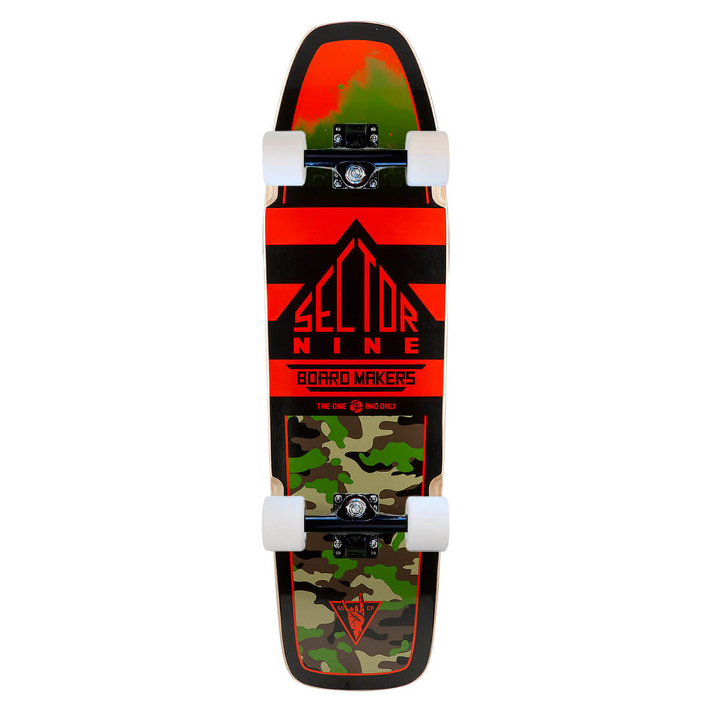 Sector 9 Ninty Five, Red Mini Cruiser Complete
