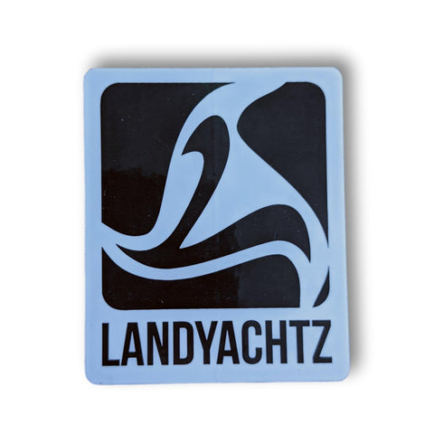 Landyachtz Black Logo Sticker