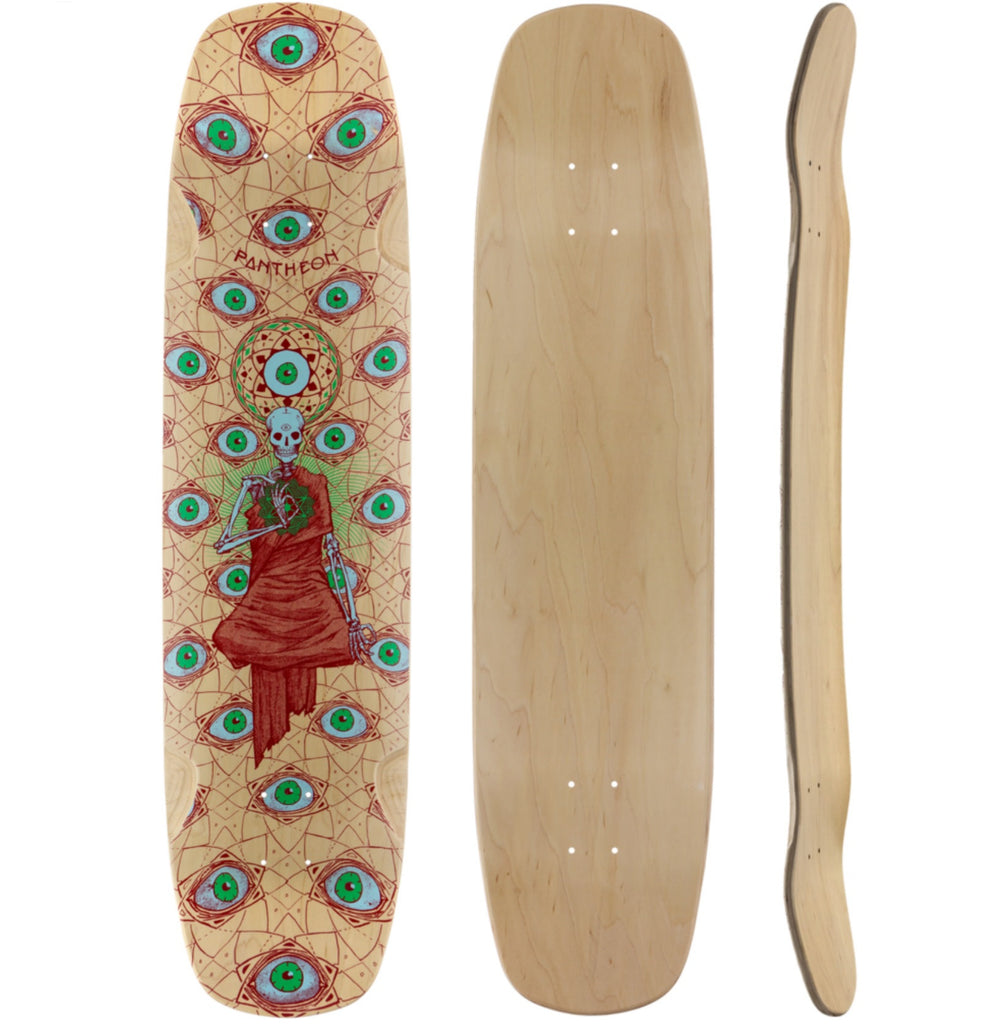 Pantheon Logos Longboard, Deck and Complete