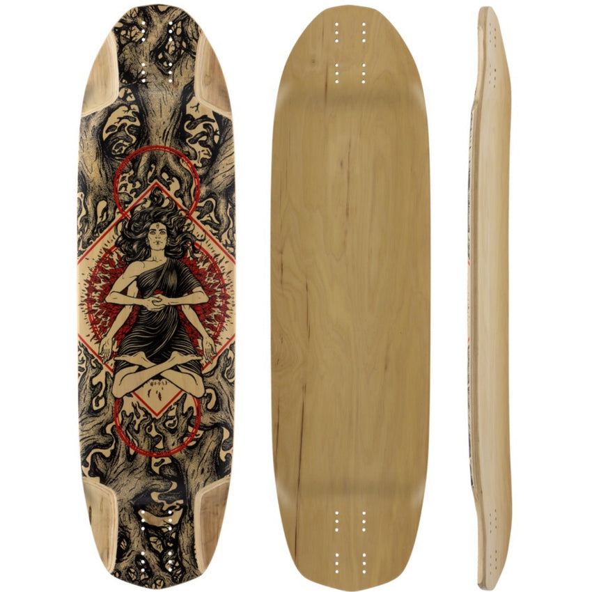 Pantheon Sacrifice Longboard, Deck and Complete