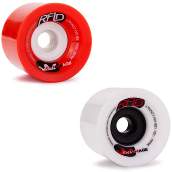 RAD Advantage Longboard Wheels, 74mm