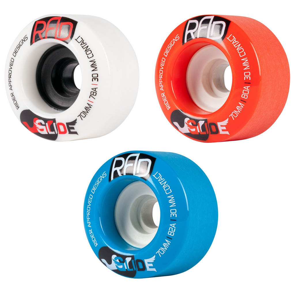 RAD Glide Longboard Wheel, 70mm