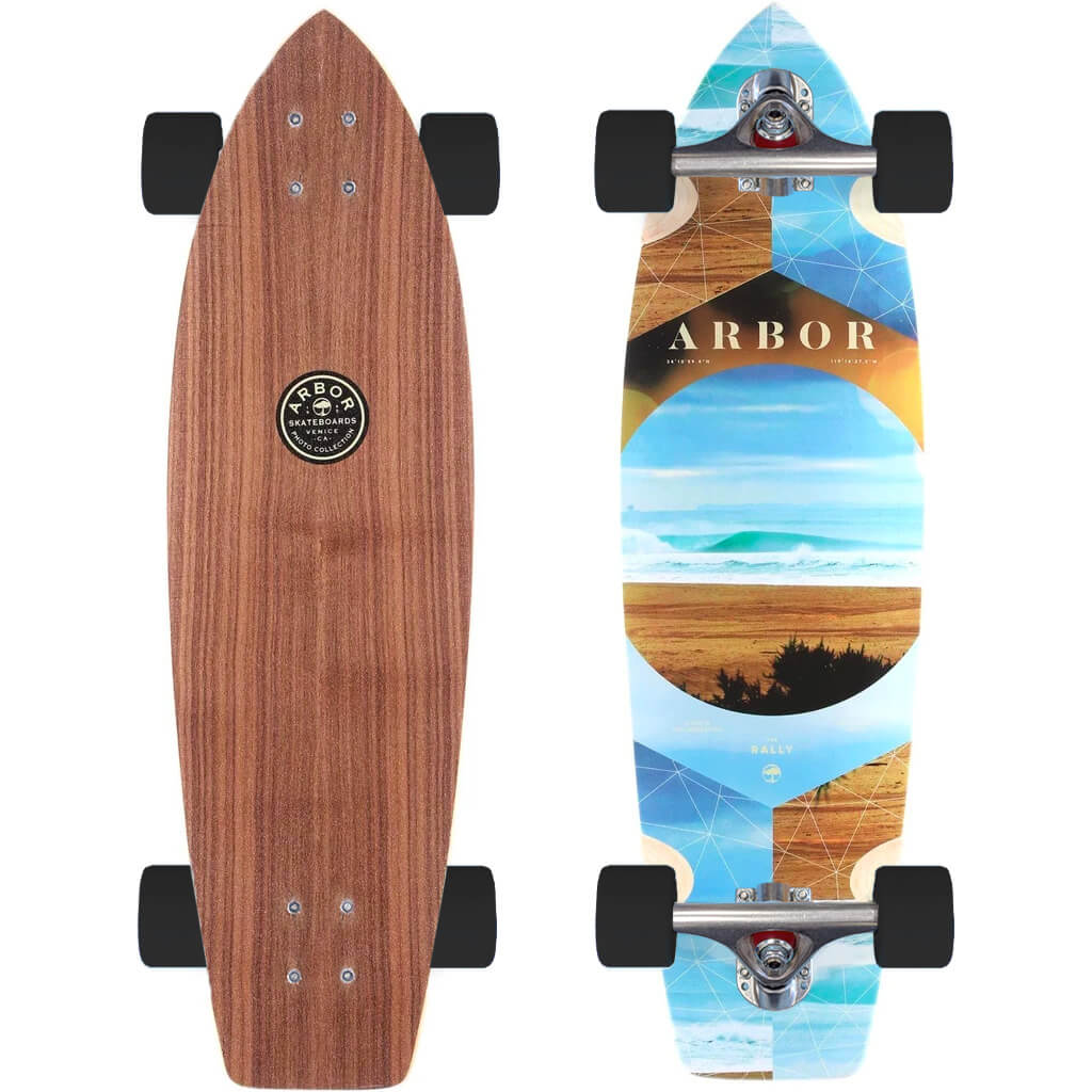 Arbor Rally Longboard Skateboard Complete Build