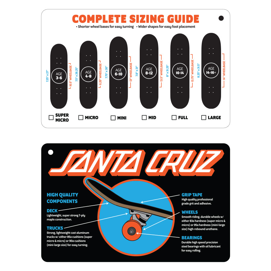 Santa Cruz Classic Screaming Hand Complete 8.0""
