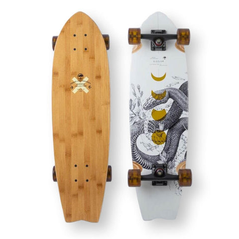Arbor Sizzler Bamboo Cruiser, Complete