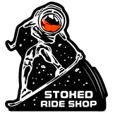 Stoked Ride Shop Space Man Sticker Series #1