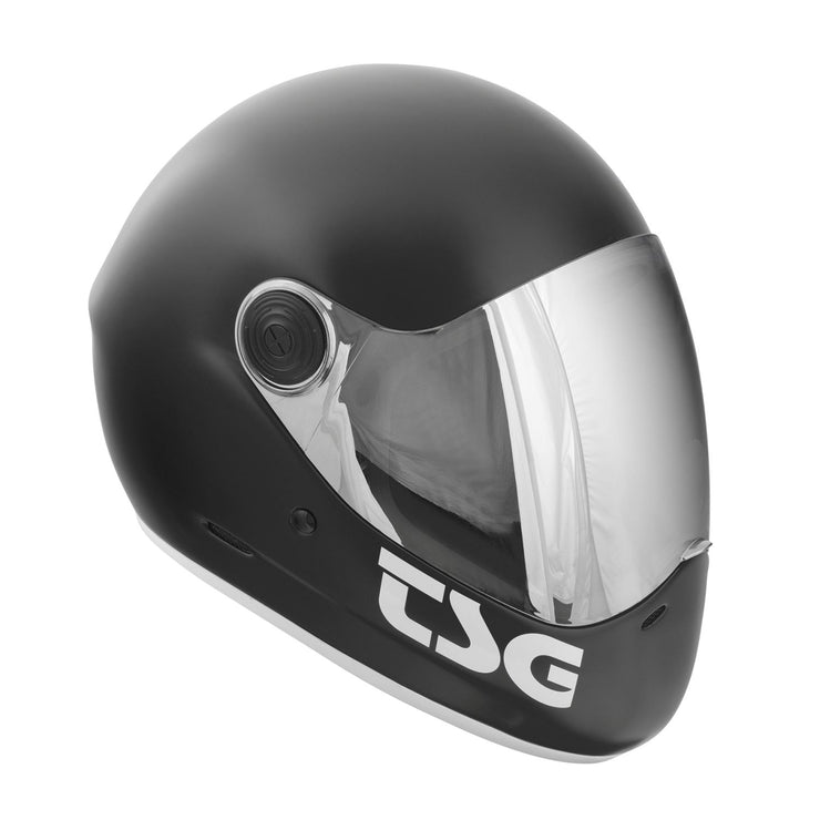 TSG Pass Full Face Helmet Satin Black