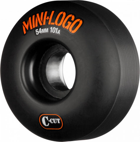 Mini Logo Skateboard Wheels, Black