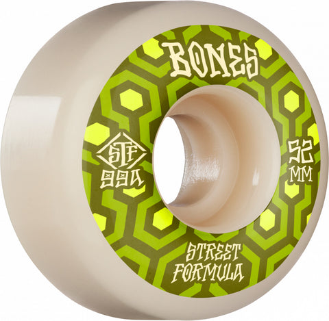 Bones Retros V1 Standards Wheels, 52mm/99a