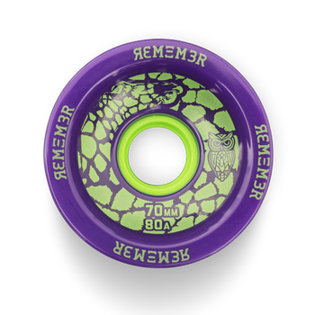 Remember Savannah Slamma' Wheels, 70mm