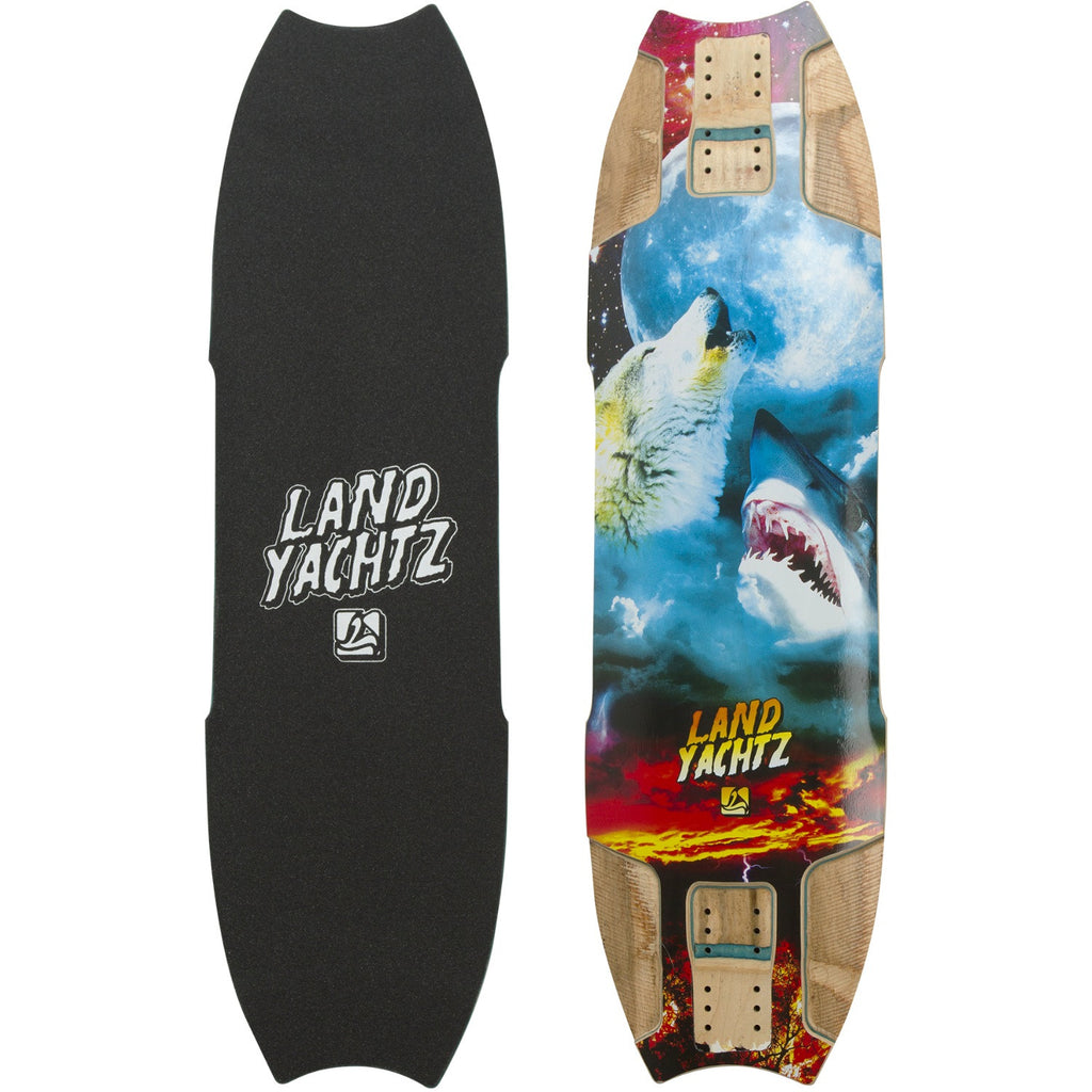 Landyachtz Wolf Shark Re-Issue Longboard, Deck and Complete