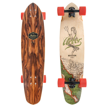 Arbor Mission Groundswell Longboard, Complete