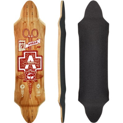 Arbor Prodigy Longboard, Deck Only (No Grip)