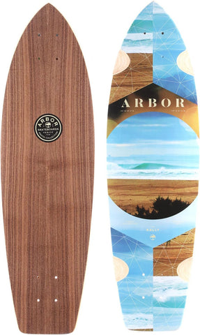 Arbor Rally Longboard Skateboard, Deck Only