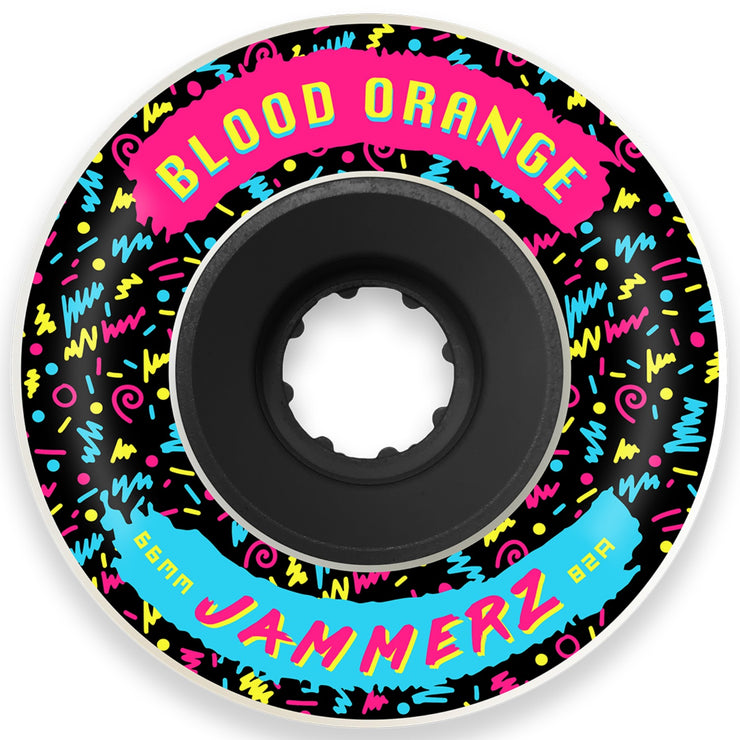 Blood Orange Jammerz Wheels, 60mm | 66mm | 69mm