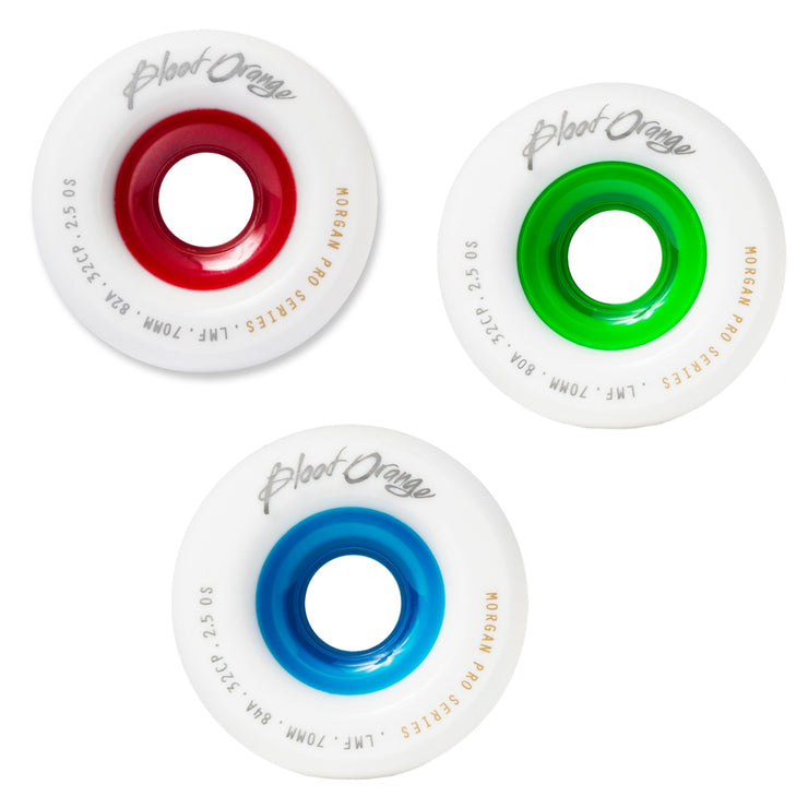 Blood Orange Liam Morgan Pro Longboard Wheels, 60mm | 65mm | 70mm