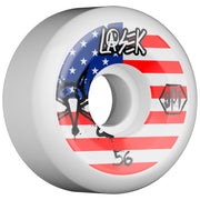 Bones Bucky Lasek Pro SPF USA Skateboard Wheels, 56mm | 58mm 84b
