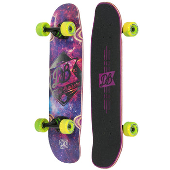 DB Mini Cruiser Skateboard, Complete
