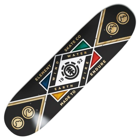 Element Stamina Skateboard, Deck Only
