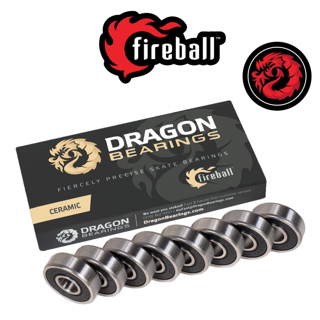 Dragon CERAMIC Bearings 8 Pack