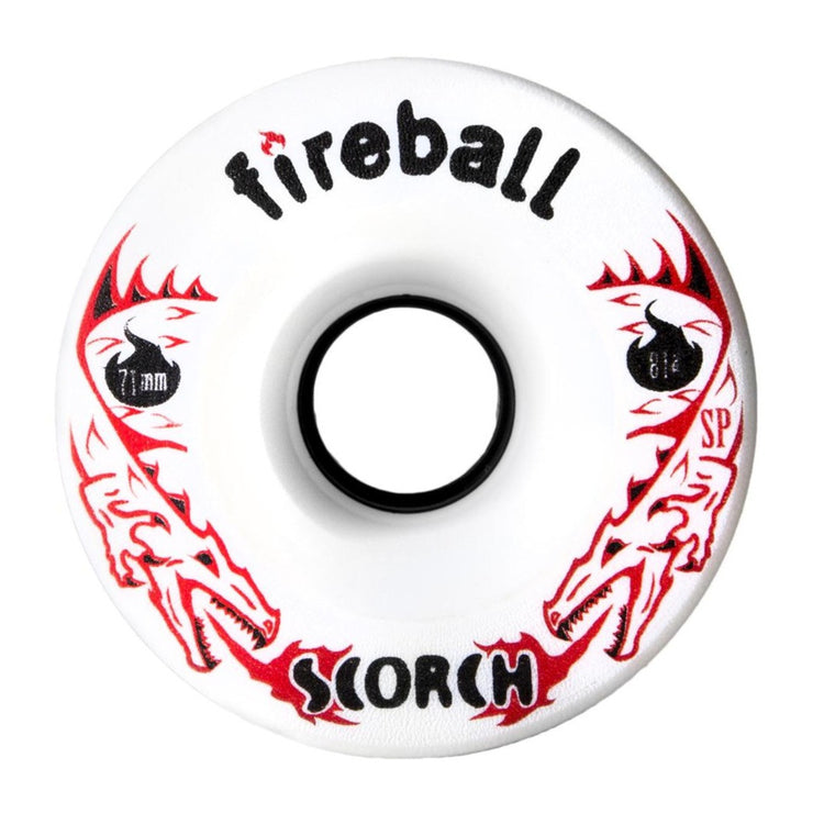 Fireball Scorch Wheel, Front White 81a