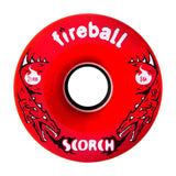 Fireball Scorch Wheel, Front Red 84a