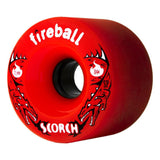 Fireball Scorch Wheel, Angle Red 84a