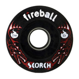 Fireball Scorch Wheel, Front Black 87a