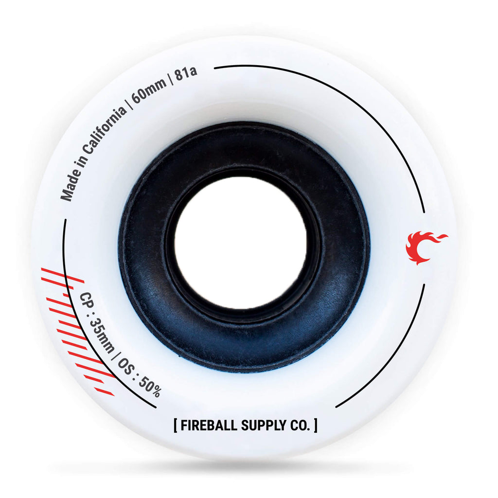 Fireball Tinder 60mm 81a Wheel