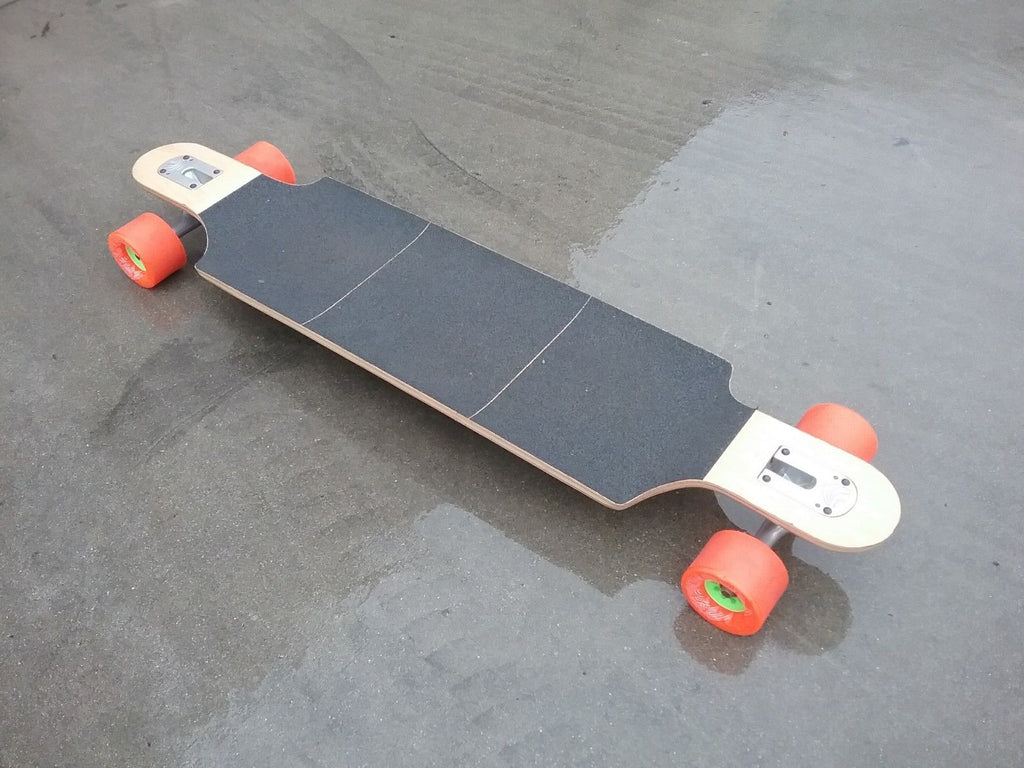 Kebbek Jim Z Flush Cut Longboard Skateboard Complete w/ Paris Trucks and Orangatang Caguama