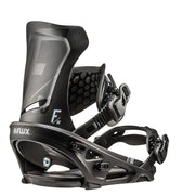 Flux Snowboard Bindings, Flat Rocker Series, DS (2019)
