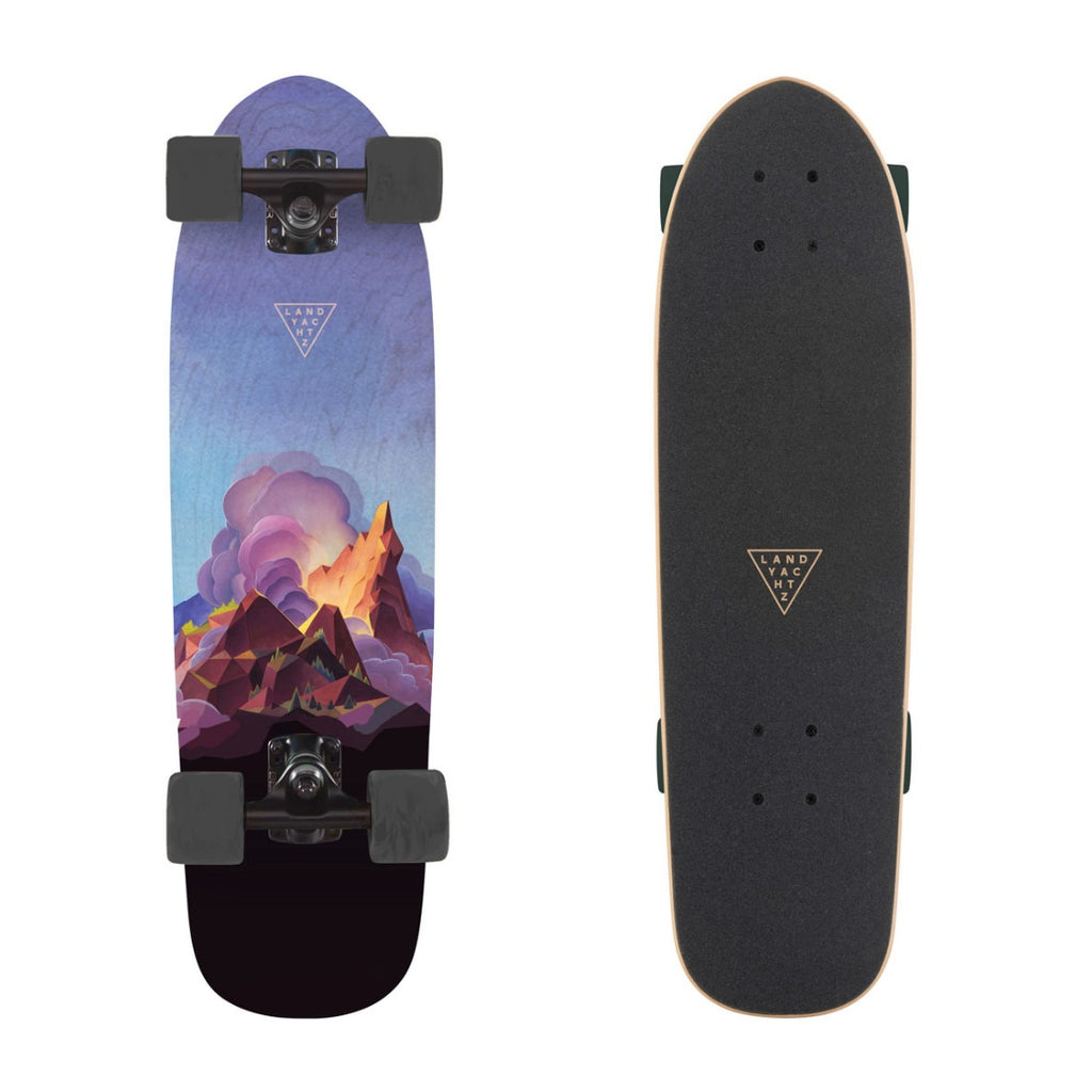 Landyachtz Dinghy Series Skateboard, Crown Peak Complete