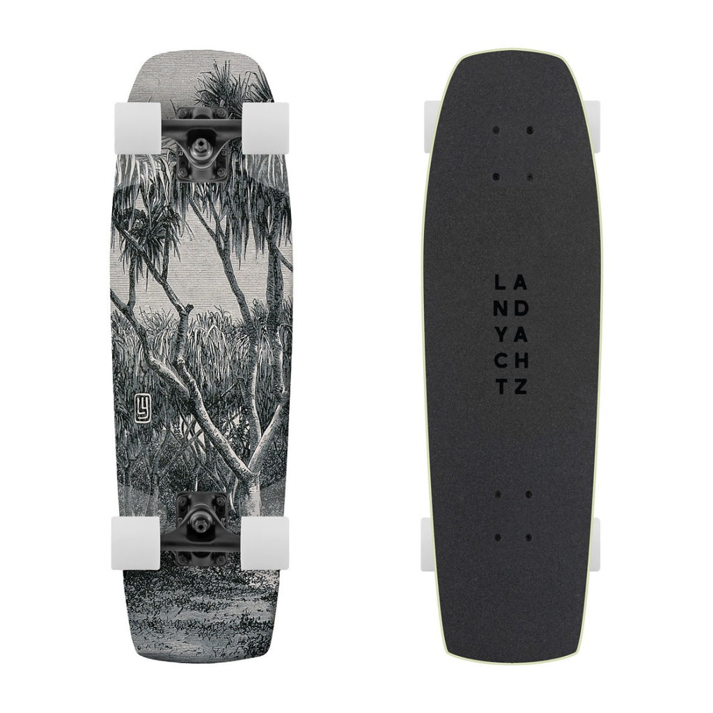 Landyachtz Dinghy Series Skateboard, Coffin Engraving Complete