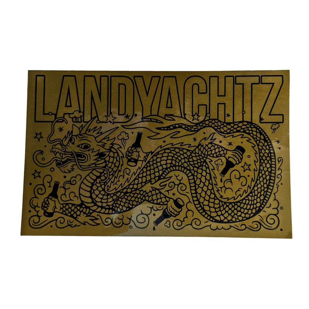 Landyachtz Golden Dragon Sticker