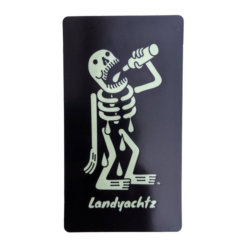 Landyachtz Skeleton Glow in the Dark Sticker