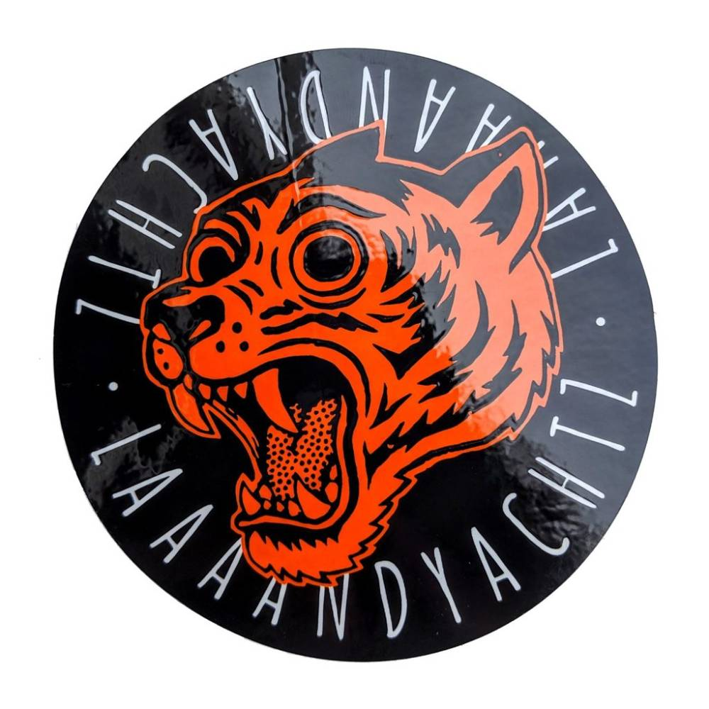 Landyachtz Circle Tiger Sticker