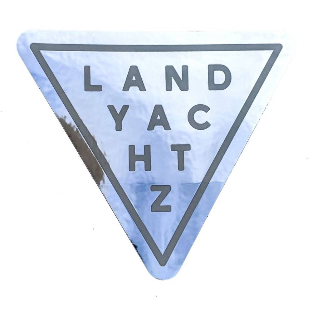 Landyachtz Reflective Triangle Sticker