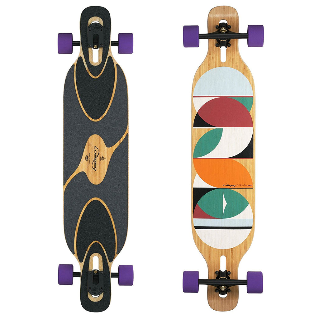 Loaded Dervish Sama Longboard, Deck and Complete