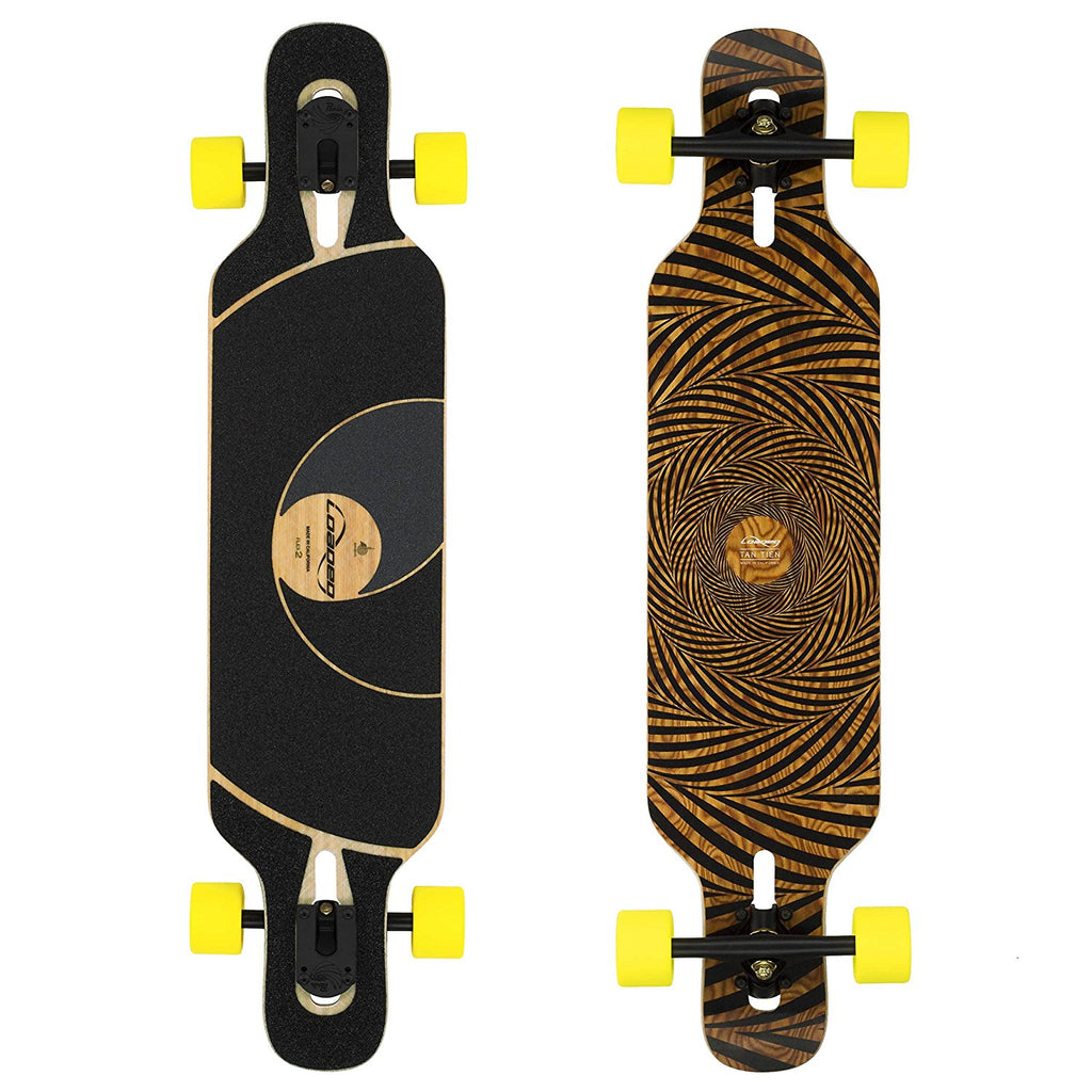 Loaded Tan Tien Longboard, Deck and Complete