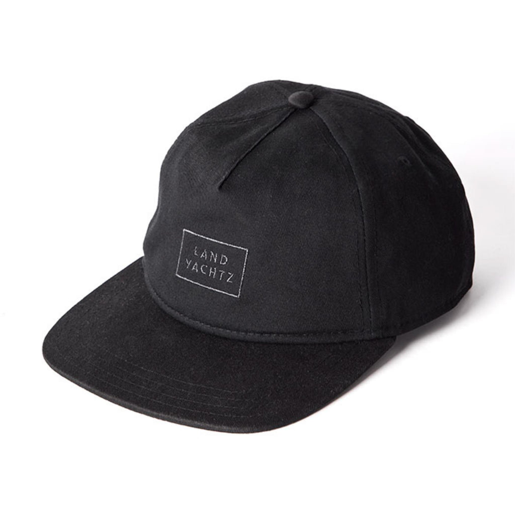 Landyachtz Rectangle Logo Hat, Black