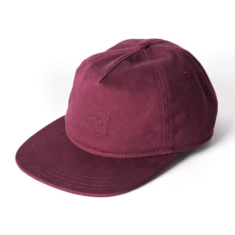 Landyachtz Rectangle Logo Hat, Maroon