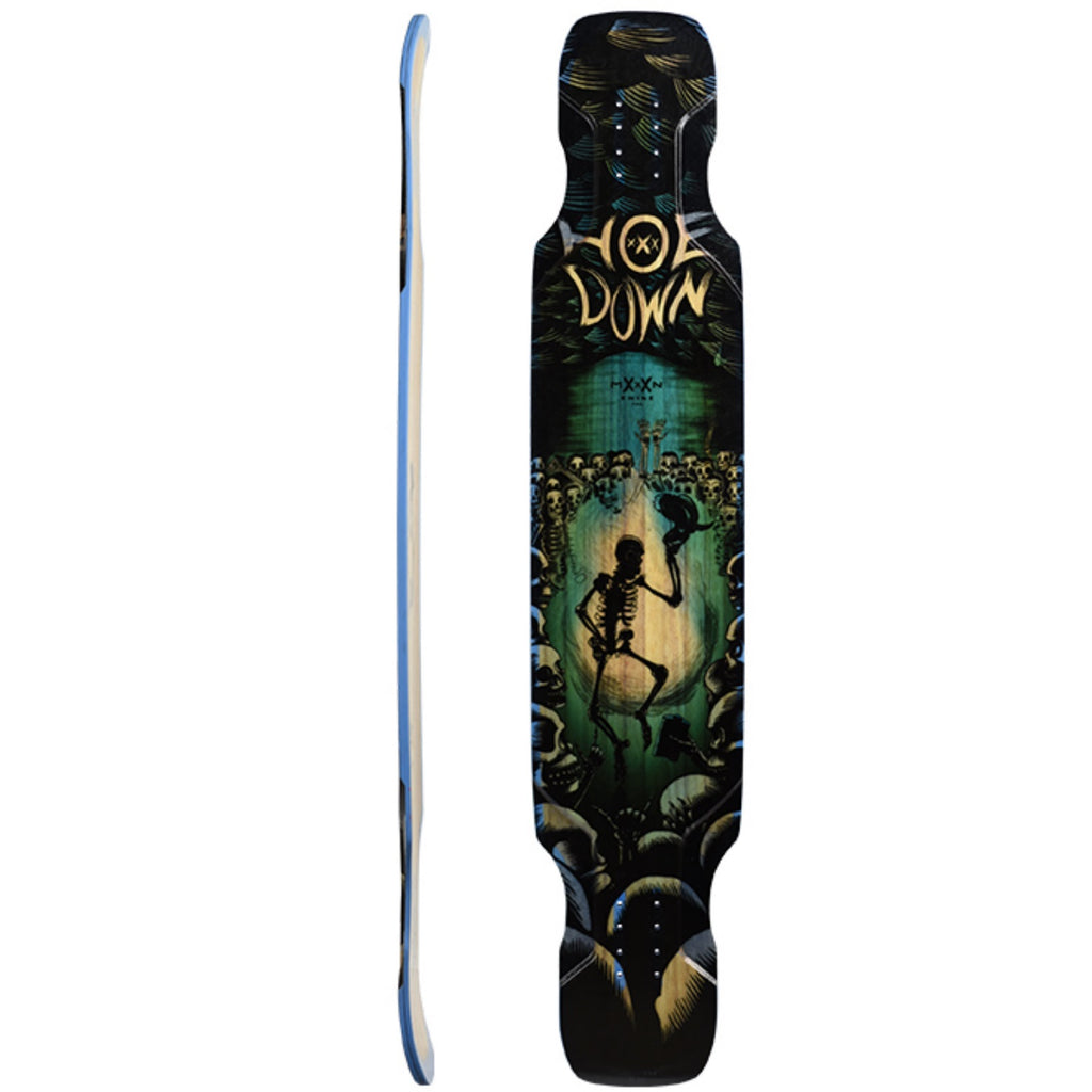 Moonshine Hoedown Dancer Longboard, Deck and Complete